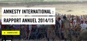 Amnesty International: L'année 2014 a été terrible