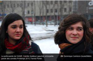 Montréal, Canada: Les étudiants continueront de décrier l'austérité