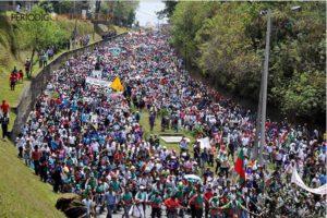"""Les communautés paysannes, indigènes, et afro-colombiennes disent """"oui!"""" à la paix"""
