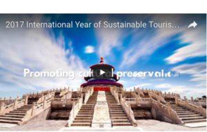 2017 Année Internationale du Tourisme Durable pour le Développement