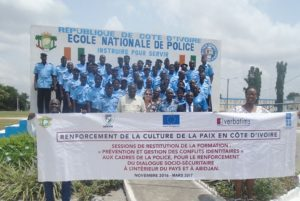 Côte d'Ivoire: Police nationale: 639 agents formés à la culture de la paix