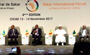 Fin du 4ème Forum international de Dakar sur la paix et la sécurité en Afrique