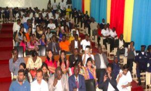 RDC: Manifestation de la Journee Scolaire de la Non Violence et de la Paix