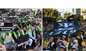 Gilets Jaunes: la « contagion » a atteint 22 pays dans le Monde!! Le silence médiatique est assourdissant…
