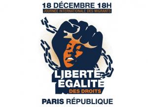 France: Appel à Manifester le 18 Décembre, Journée Internationale des Migrant·e·s