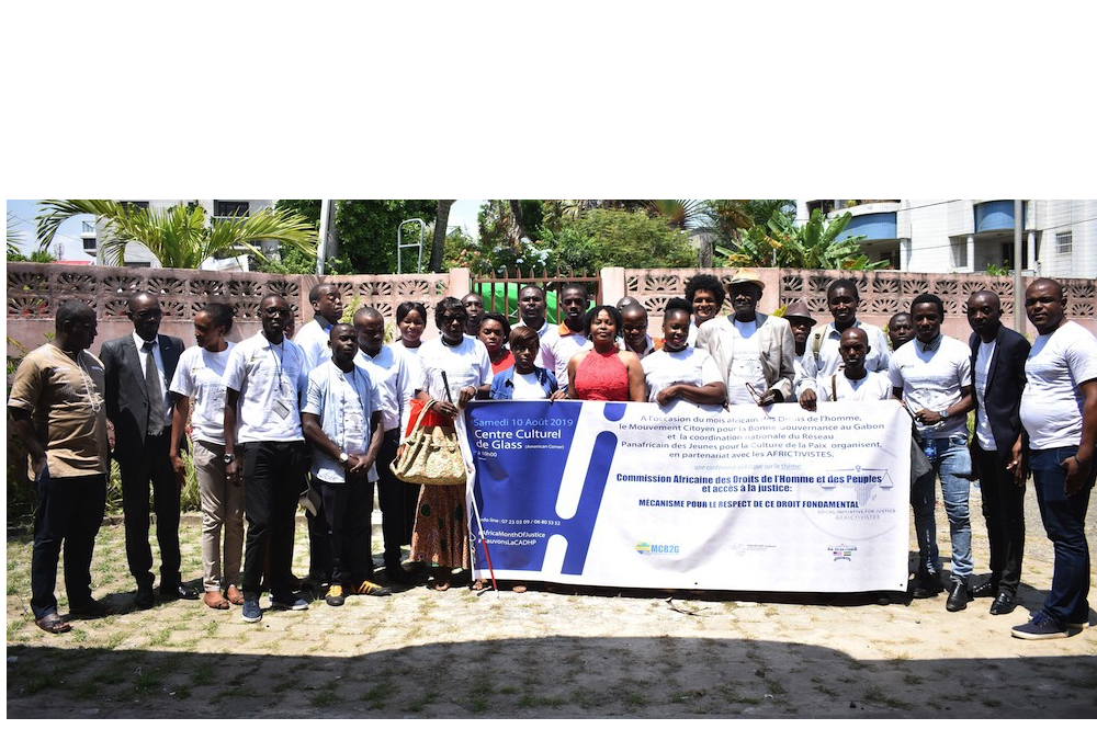 Le PAYNCoP Gabon et AFRICTIVITES édifient les organisations de la société civile sur la Commission Africaine des Droits de l'Homme et des Peuples (CADHP)