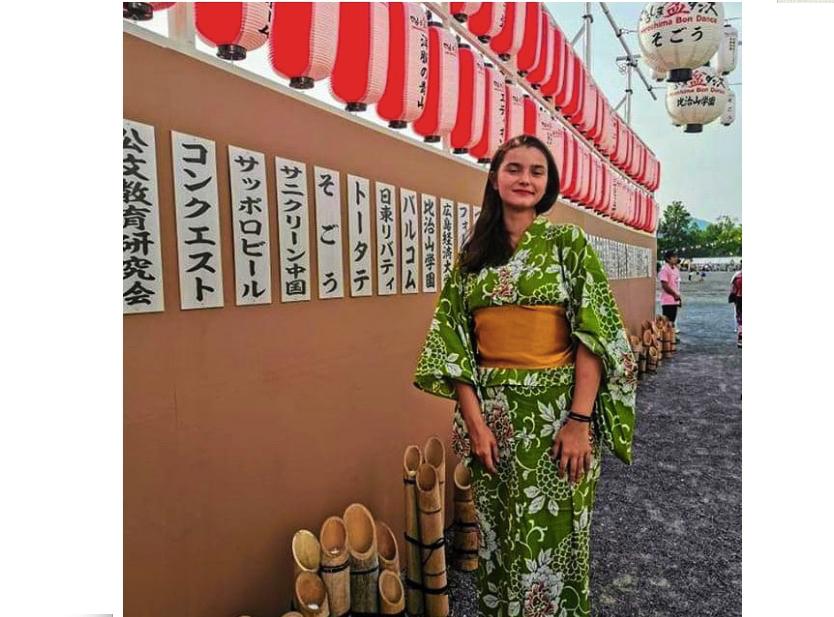 Essonne, France: De Grigny à Hiroshima, le parcours d'une lycéenne partie évoquer la Paix