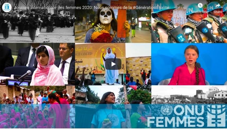 Journée internationale des femmes 2020