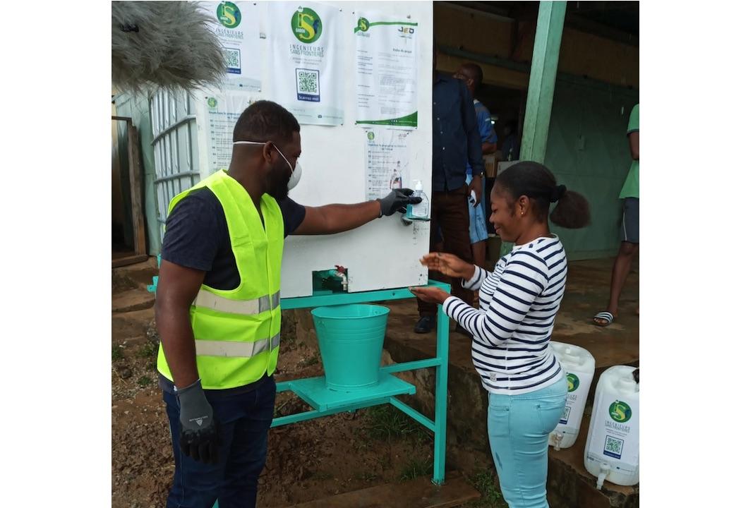 Le PAYNCoP Gabon et Ingénieurs Sans Frontières s'associent pour combattre le COVID 19