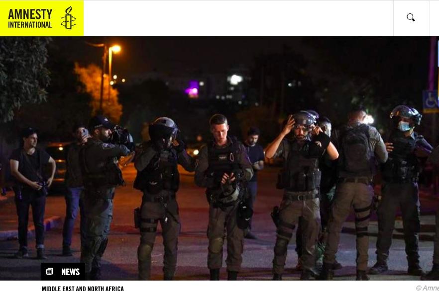 Israël/TPO. Il faut mettre fin à la répression brutale des Palestinien·ne·s qui manifestent contre les déplacements forcés à Jérusalem-Est occupée