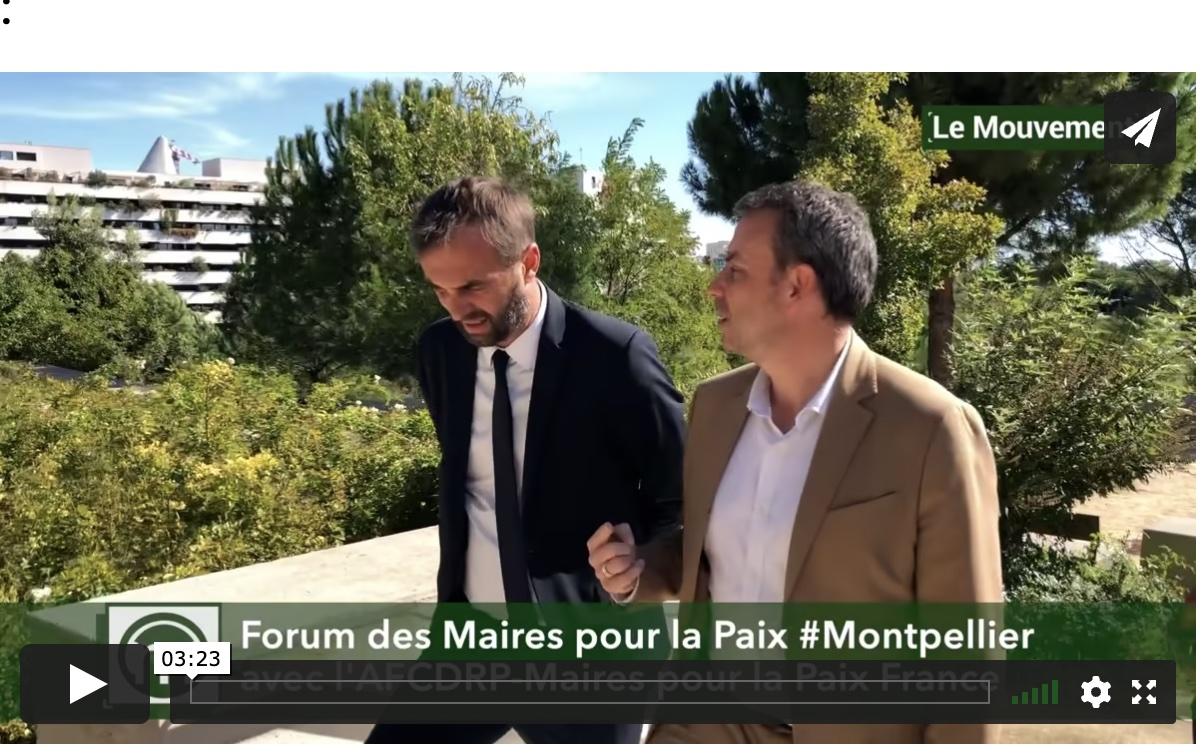 France: Le meilleur maire du monde est à Montpellier, c'est Philippe Rio maire de Grigny