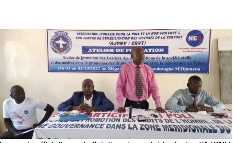 Tchad : l'AJPNV forme sur la promotion de la démocratie et des droits de l'Homme