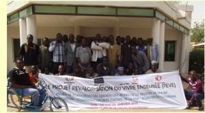 """A Year-long Project for """"Living Together – REVE"""" in Niger"""