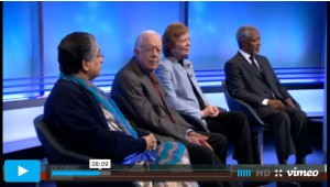 "The Elders debate ""should military action be taken against Islamic State?"""