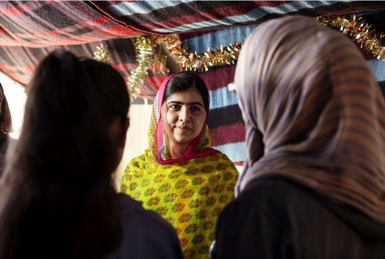 Malala marks 18th birthday by opening school for girl refugees in Lebanon