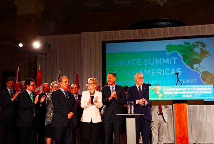 Landmark Climate Statement Signed in Ontario