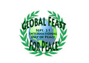 Global Feast for Peace, held annually during Peace Week, Sept. 15-21