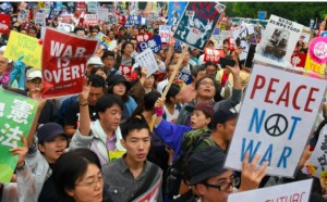 In Japan, Tens of Thousands Anti-War Protesters Reject Return to Militarism