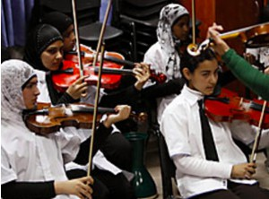 Letter of appreciation to the Palestinian Youth Orchestra