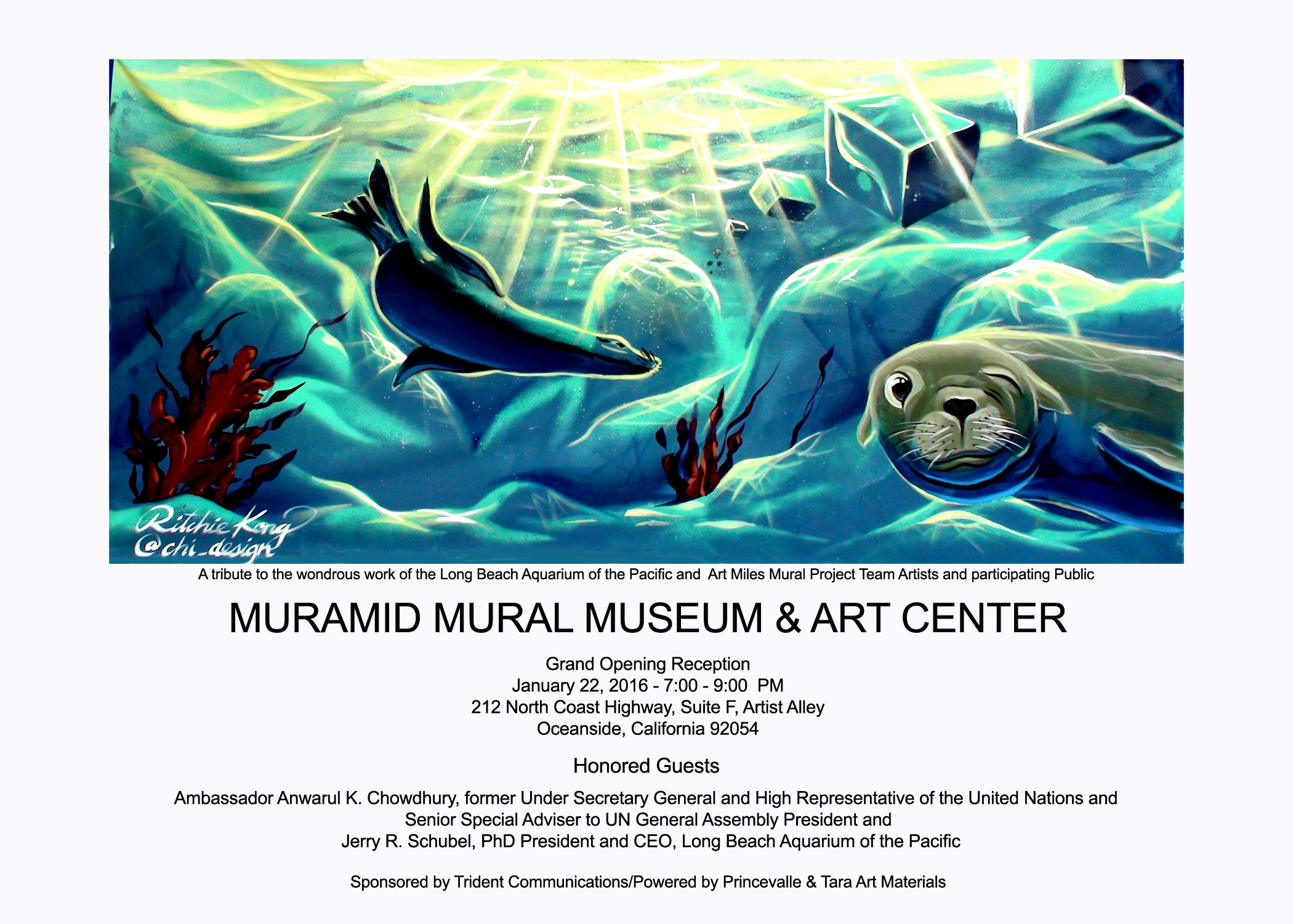 Usa the first mural museum in the world is a culture of for Art miles mural project