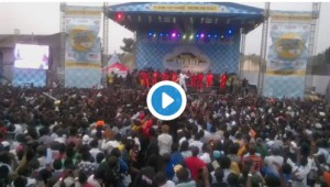 Goma, Nord Kivu, Congo: Third edition of the Amani Music Festival