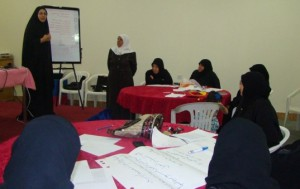 Bahrain Women Association conducted a workshop on peace for Sitra Alahleya Society – Women club