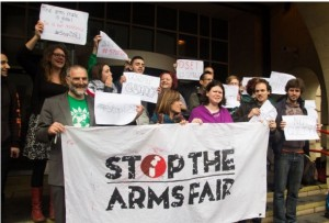 Court victory gives momentum to long struggle against London arms fair