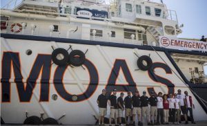 MOAS & EMERGENCY NGO partner up to provide rescue and medical care to migrants in the Mediterranean
