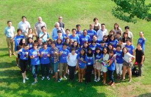 Young people from all over the world come together at Hiroshima to learn about peace and nuclear disarmament