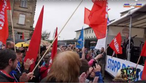 Germany: 5000 people protest in Ramstein – drone war is murder. We will be back!