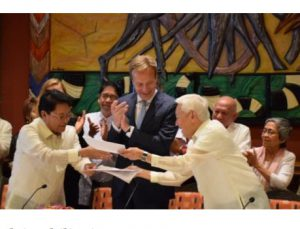 Breakthrough in Philippine peace process