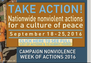 600+ Campaign Nonviolence Events Across USA Next Week!