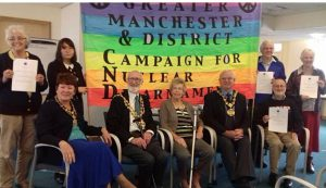 UK: Rochdale and Littleborough Peace Group sign Pledge to Peace