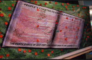 Nonviolence Charter: Progress Report #9