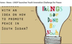 Winners of Youth Innovation Challenge to Engage in Peacebuilding in South Sudan