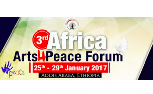Third Annual Africa Arts4Peace Forum to be held January 25-29
