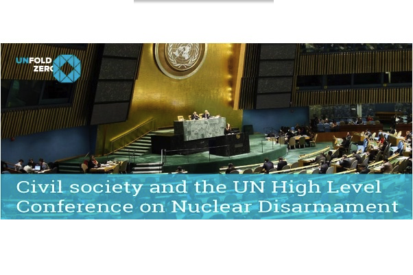 Civil Society and the UN High Level Conference on Nuclear Disarmament