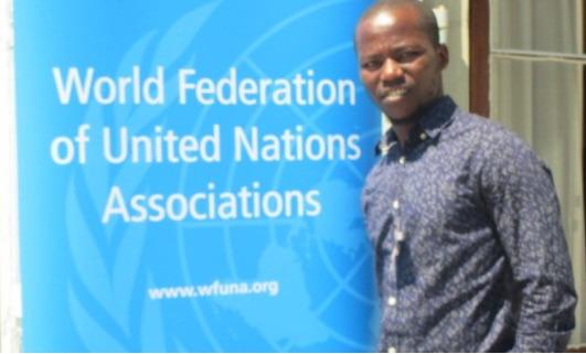 2016 WFUNA Young Leader is Zimbabwean