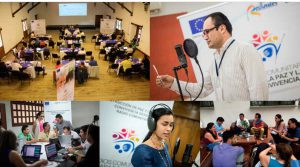 "The European Union, the Colombian Government and the civil society work together in the project: ""Community Radios for Peace and Coexistence"""
