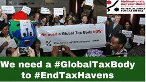 Global Alliance for Tax Justice: #EndTaxHavens campaign update: (6 April)