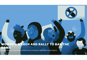 United Nations: Women's Rally and March to Ban the Bomb