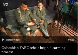 Colombia's FARC disarmament confirmed by United Nations