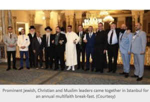 Jewish, Christian, Muslim Leaders Feast Together for Interfaith Ramadan Break-Fast in Istanbul