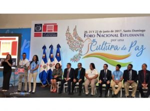 Dominican Republic: Education Ministry launches student forum for a culture of peace