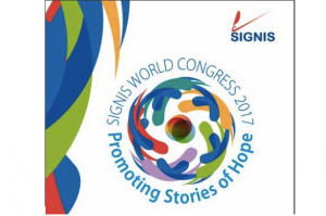 Theme of 2017 SIGNIS World Congress: Media for a Culture of Peace: Promoting Stories of Hope.