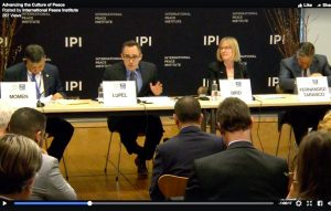 IPI Forum at United Nations: Advancing the Culture of Peace