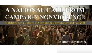 "USA: Campaign Nonviolence Mounts Nationwide ""Week of Actions"" September 16-24, 2017"