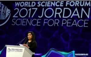 Jordan: Peace through science