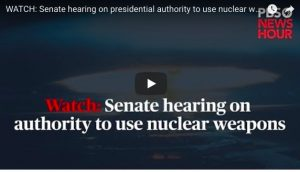 USA: Fearing Trump, Congress Holds First Hearing in Decades on President's Nuclear Authority