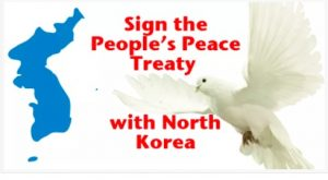 USA: Sign The People's Peace Treaty with North Korea